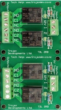TDL 4RB – 4 Way Relay Board