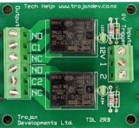 TDL 2RB – 2 Way Relay Board
