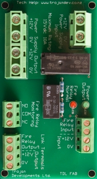 TDL-FAB Fire Alarm Interface Board
